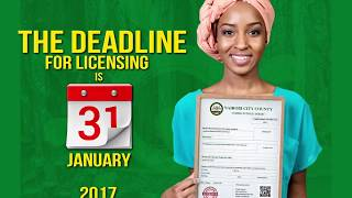 Nairobi City County Unified Business Permit TVC