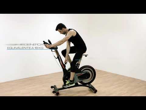 Bicicleta estática Indoor Salter Iracer