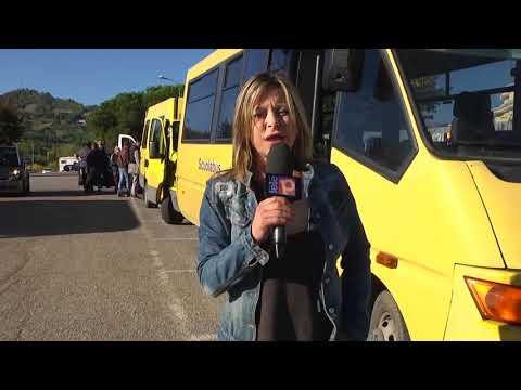 Stamattina controlli degli scuolabus della ditta Angelini