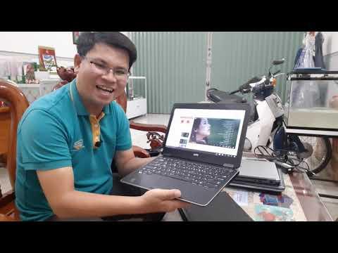 Laptop Dell E7240 cấu hình khủng. Core I7, Ram 8G, ssd 256. Rất tiện lợi cho người thường di chuyển