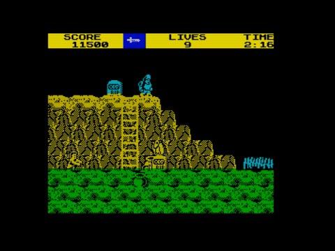 Ghosts 'n Goblins Walkthrough, ZX Spectrum