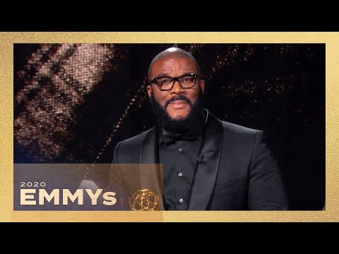 Emmys 2020: Watch Tyler Perry's Emotional Governors Award Speech