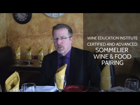 WEI Online Sommelier Certification - Food and Wine Pairing ...