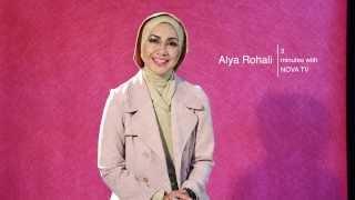 3 minutes with Alya Rohali   Cover Story Nova