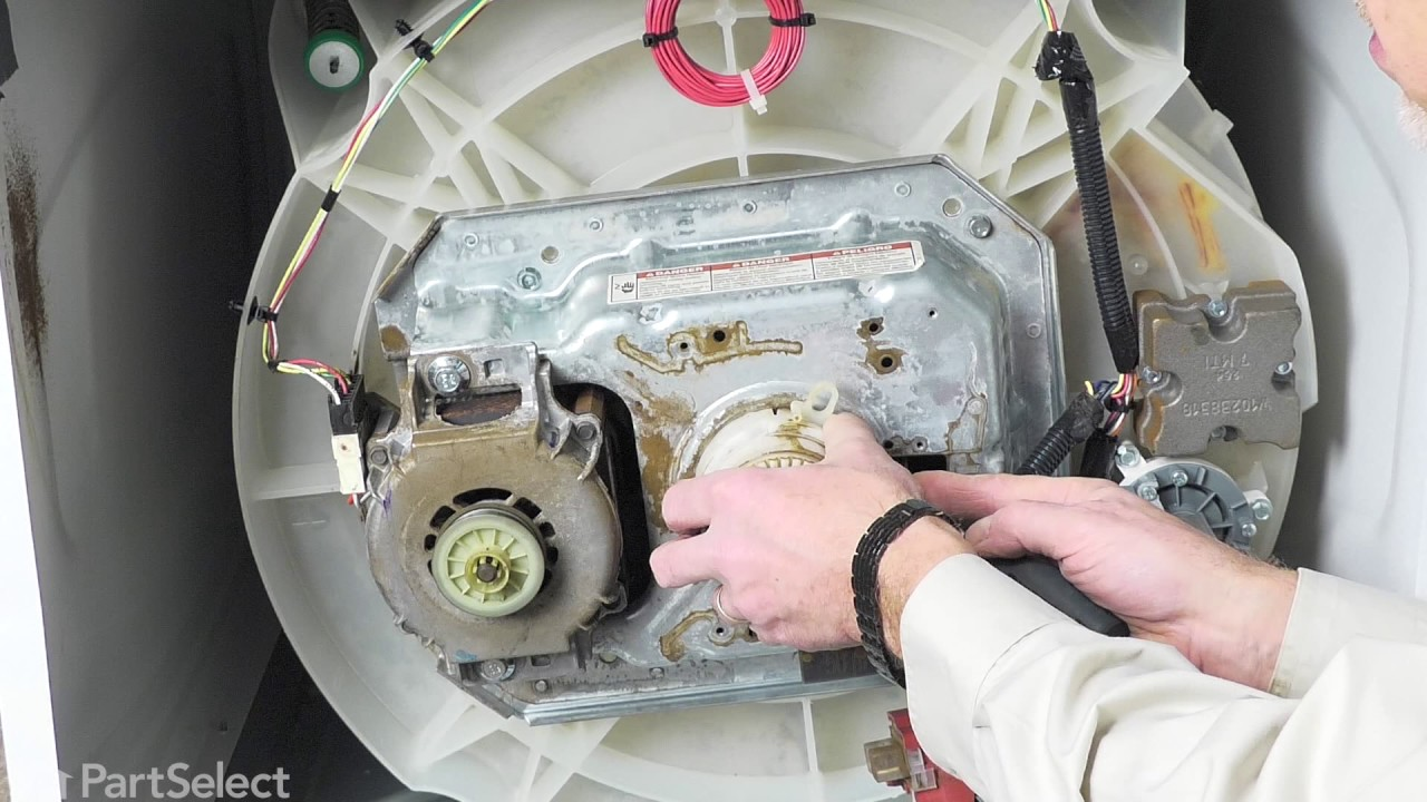 Replacing your Whirlpool Washer Washer Drive Pulley
