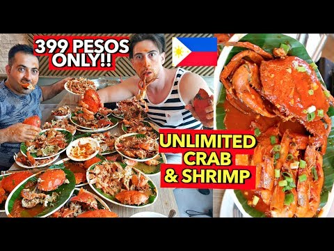 Unlimited KING CRABS & SHRIMPS in BACLARAN Manila, PH! 😱🇵🇭
