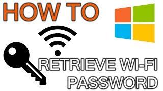How To Retrieve Wifi Password From Windows PC
