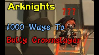 Silence  - (Arknights) - 【Arknights】1000 Ways to bully Crownslayer