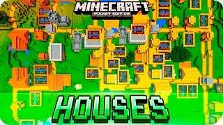 Minecraft PE Seeds - Huge VILLAGE Seeds with Blacksmith Houses -  MCPE 1.2 / W10 / Xbox
