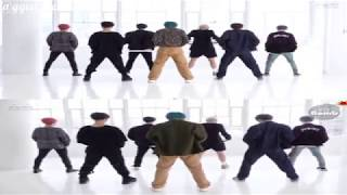 BTS - Boy with Luv Static VS Eye Contact Dance Pracitce