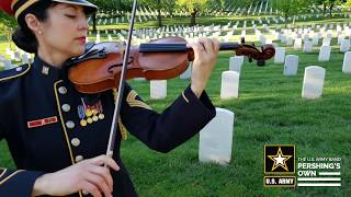 The U.S. Army Strings perform Amazing Grace