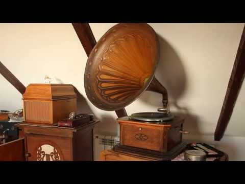 Gramofon Parlophon Gramophone