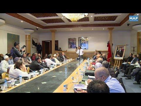 العرب اليوم - شاهد: اعمارة يؤكد التزامه باتخاذ اجراءات عدة تهم الملف المطلبي لمهنيي نقل البضائع