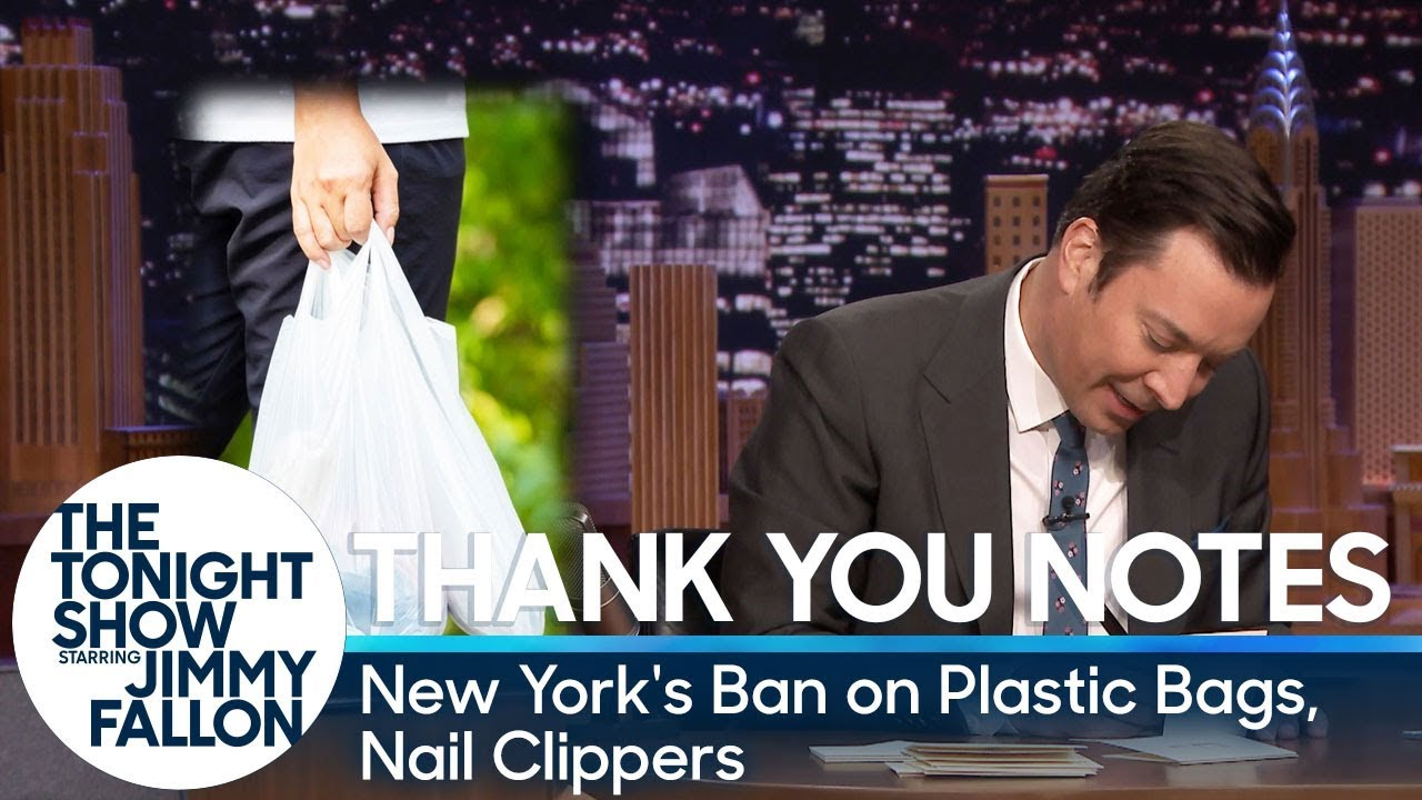 Thank You Notes: New York's Ban on Plastic Bags, Nail Clippers thumbnail