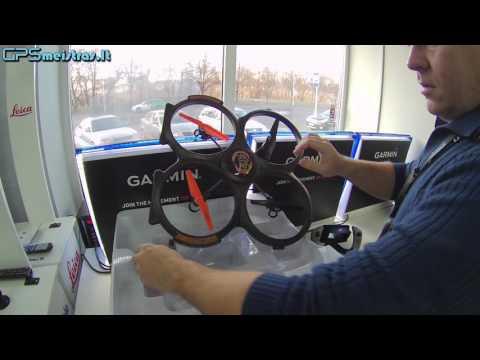 AM X51 dronas su HD kamera ir tiesiogine transliacija į valdymo pultą.