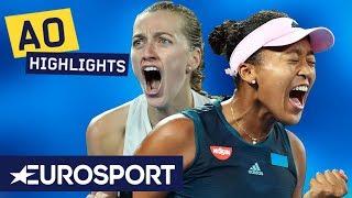 Naomi Osaka vs Petra Kvitova Extended Highlights | Australian Open 2019 Final | Eurosport