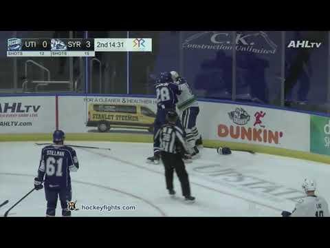Luke Witkowski vs. Jonah Gadjovich
