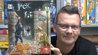 Teil 1: Mr. Jack (Hurrican) - damals wie heute ein geniales 2-Personenspiel? - ab 9 Jahre