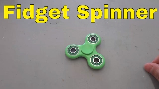 How To Use A Fidget Spinner-EASY Tutorial