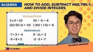 Grade 6 Math | OPERATIONS ON INTEGERS | Number Bender
