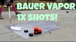 Bauer Vapor 1X shots!