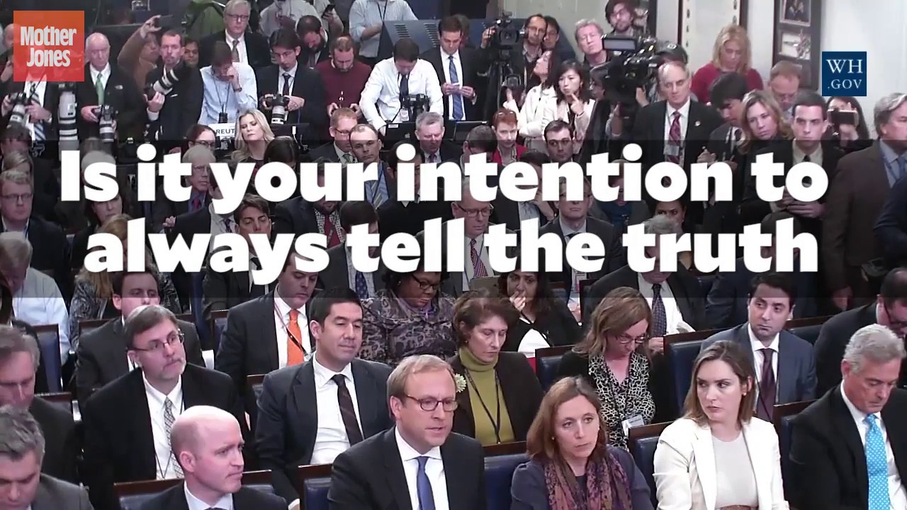 Sean Spicer Was Asked if He Intends to Always Tell the Truth thumbnail