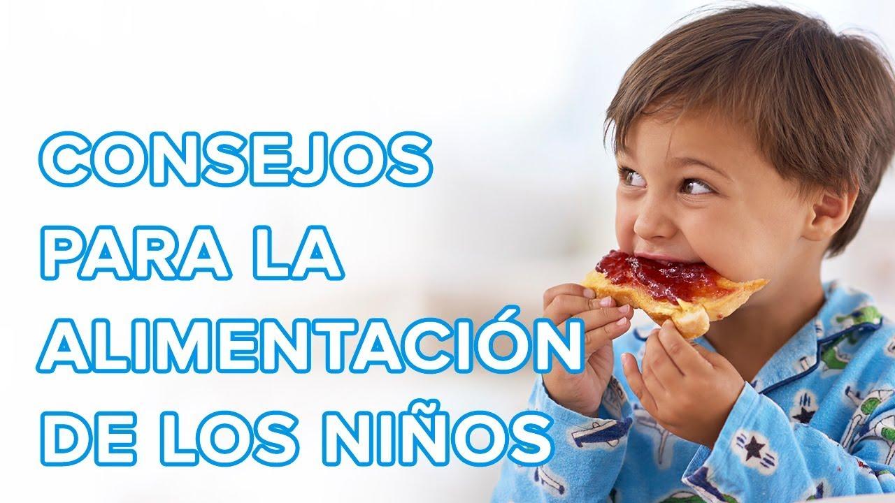 Consejos para la alimentación de los niños ????️