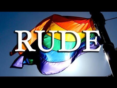 Magic cover - RUDE - LGBT version