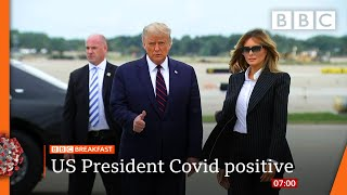 Trump and first lady test positive for coronavirus @BBC News LIVE on iPlayer ???? - BBC