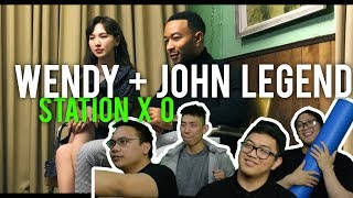 "JOHN LEGEND X WENDY ""WRITTEN IN THE STARS"" (MV Reaction)"