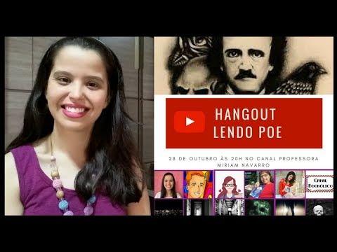 Hangout Lendo Edgar Allan Poe