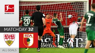 Stuttgart 2-1 Augsburg Pekan 35