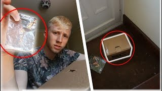 I bought a MYSTERY BOX off the DARK WEB?!