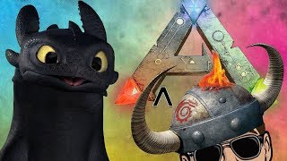HOW TO TRAIN YOUR DRAGON!!! ARK EDITION | ARK: Survival Evolved (Modded) Ep.1