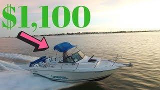 We Restored A Cheap Boat!
