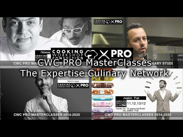 video CWC PRO MasterClasses The Expertise Culinary Network