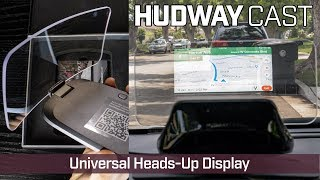 Hudway Cast - Universal Heads-Up Display with Wireless Mirroring