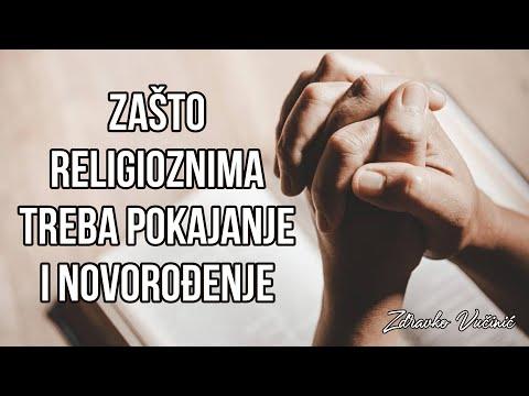 Zdravko Vučinić: Zašto religioznima treba pokajanje i novorođenje?