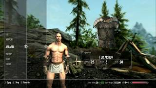 Skyrim (mods) - Crom - Spotlight On: Tempered Skins for Males (Smooth) by traa108