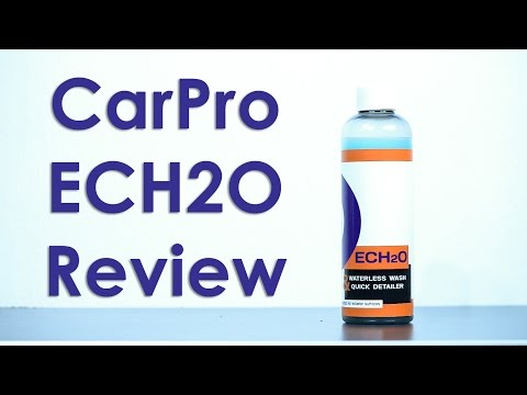 Carpro Ech2o Concentrated Waterless Wash 500 Ml Free Shipping