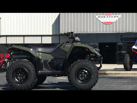 2021 Suzuki KingQuad 400ASi in Greenville, North Carolina - Video 1