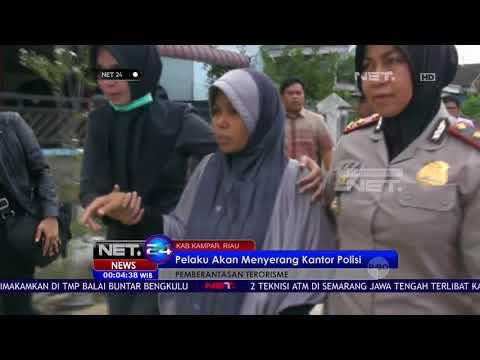 Target Menyerang Kantor Polisi, 4 Terduga Teroris Diamankan di Riau - NET24
