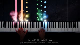 Steve Aoki Ft. BTS「Waste It On Me」Piano