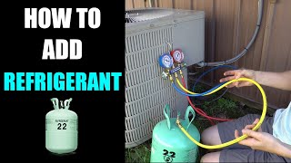 How To Add Refrigerant To Air Conditioner