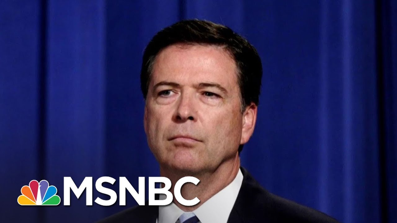 First Look At James Comey's New Tell-All Book | All In | MSNBC thumbnail