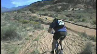The 2009 24 Hours of Moab race. Much sand has washed away, leaving more rocky sections than in this video.