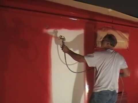 Travaux peinture 5 à 10€ m² rénovation intérieurs repeindre habitat pistolet sans brouillard Airless