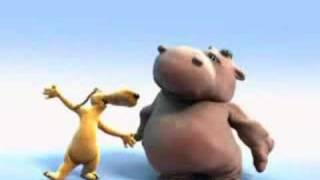 Dog & Hippo - In The Jungle