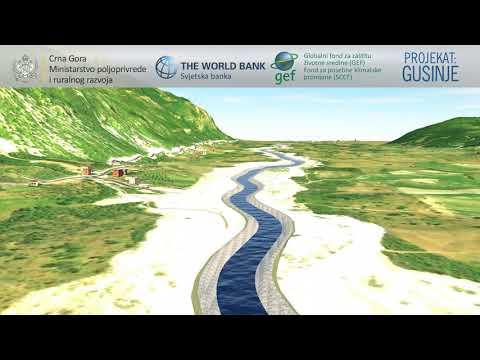 Projekat regulacije rijeke Grnčar - Gusinje