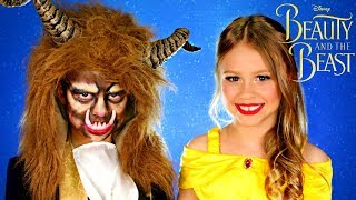 Disney Beauty and the Beast: Beast Makeup and Costume